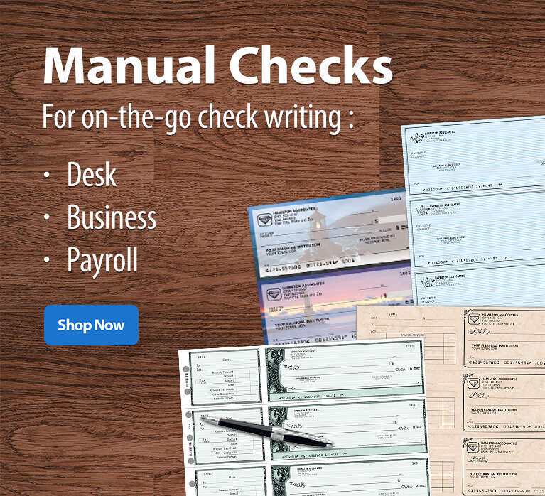 shop manual business checks