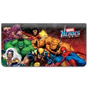Marvel Heroes Leather Cover